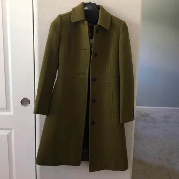 J Crew Jackets Coats Italian Doublecloth Wool Day Coat With